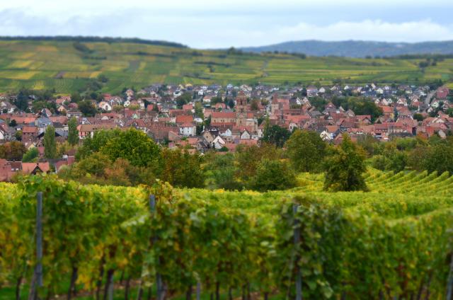 Village de campagne par Gewurt